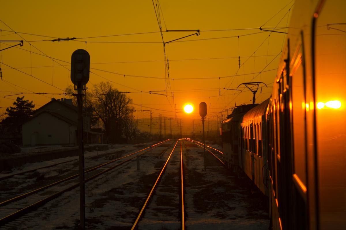 Dian ZAPRYANOV, Bulgaria / With train to the sunset